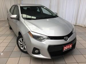 2015 Toyota Corolla S Value Buy !