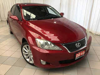 2010 LEXUS IS 250 AWD Leather Moonroof Pkg Sedan