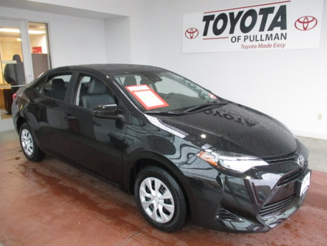 New 2019 Toyota Corolla For Sale Pullman Wa 2t1burhe2kc209914