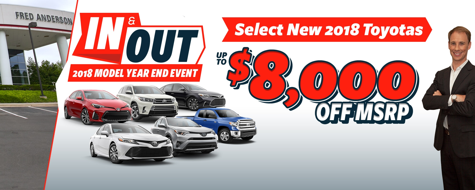 Select New 2018 Toyotas