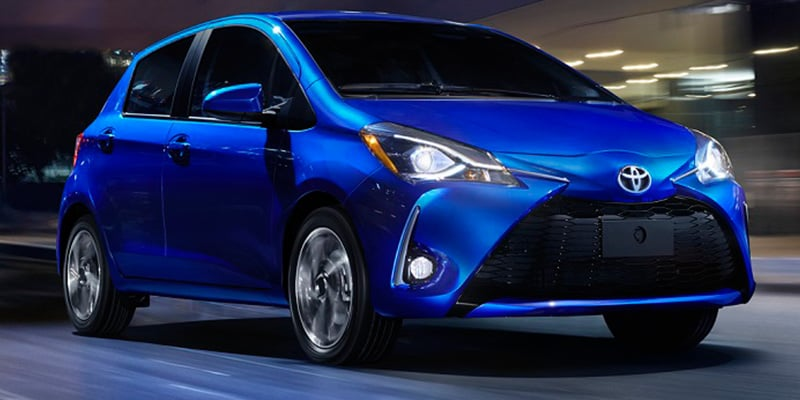 New 2018 Toyota Yaris for Sale Raleigh NC