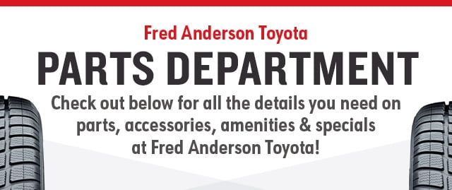 The Fred Anderson Toyota ...
