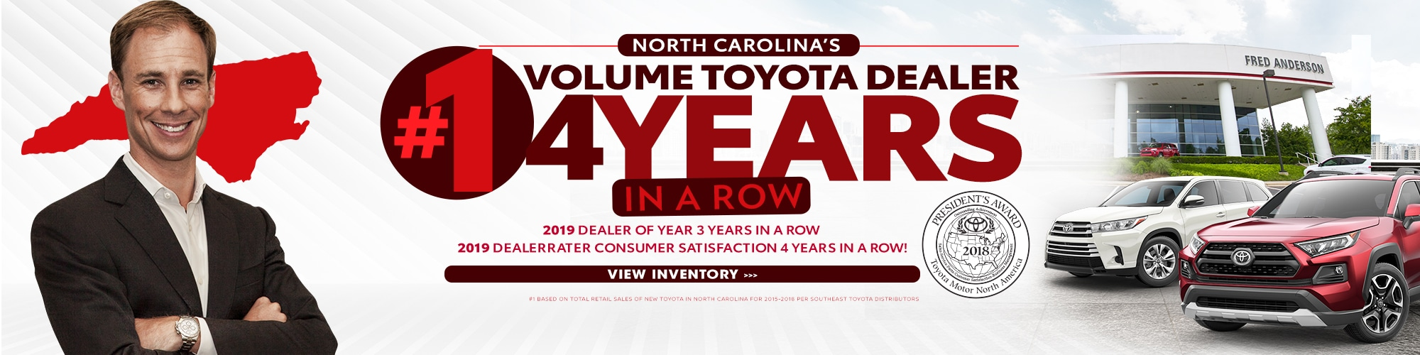 Fred Anderson Toyota Raleigh >> Toyota Dealership Raleigh Nc Near Durham Cary Wake Forest