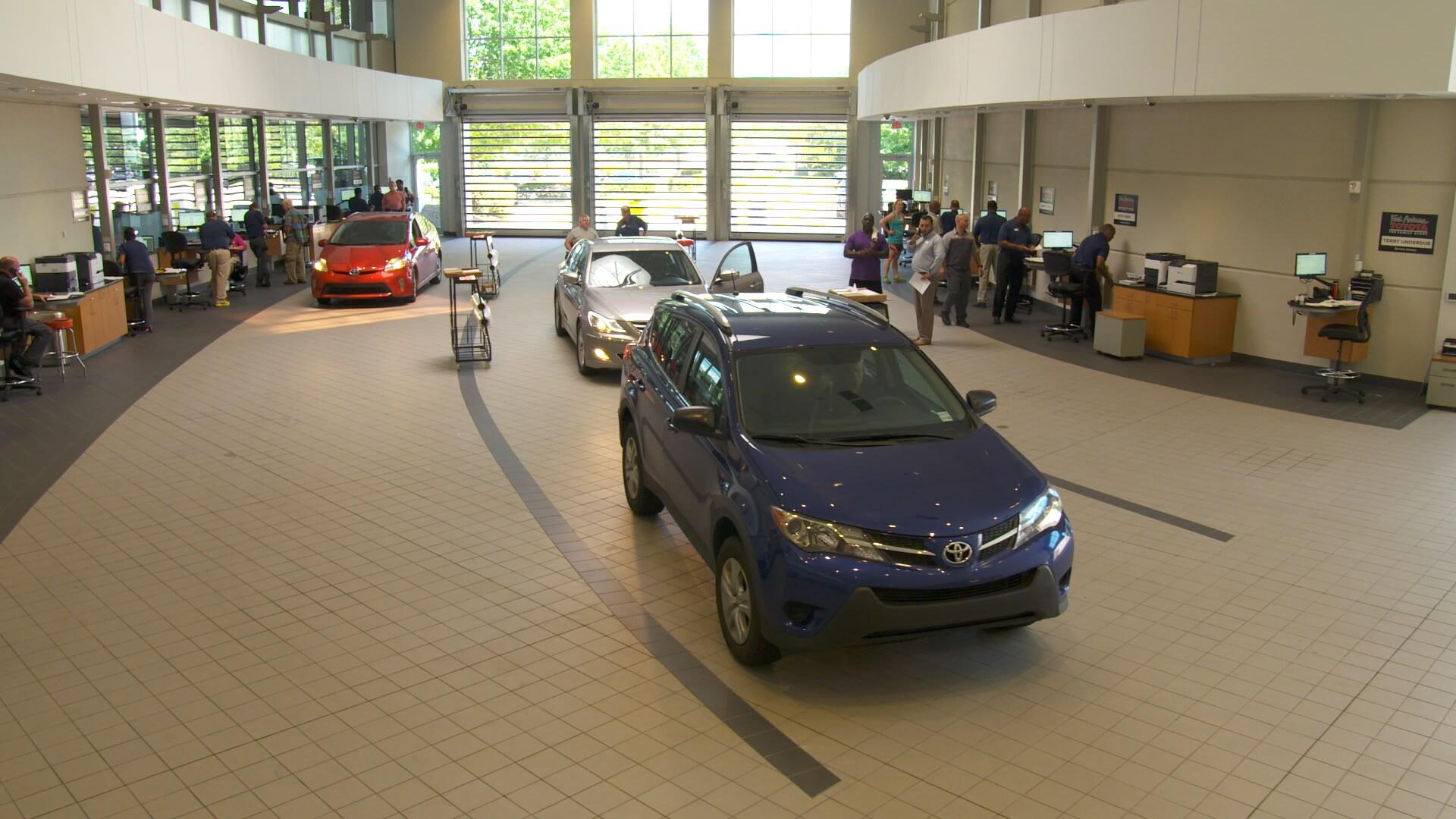 Toyota Service Center In Raleigh NC Near Durham