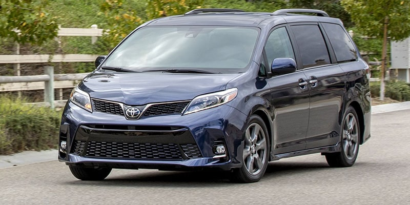 New Toyota Sienna in Raleigh NC