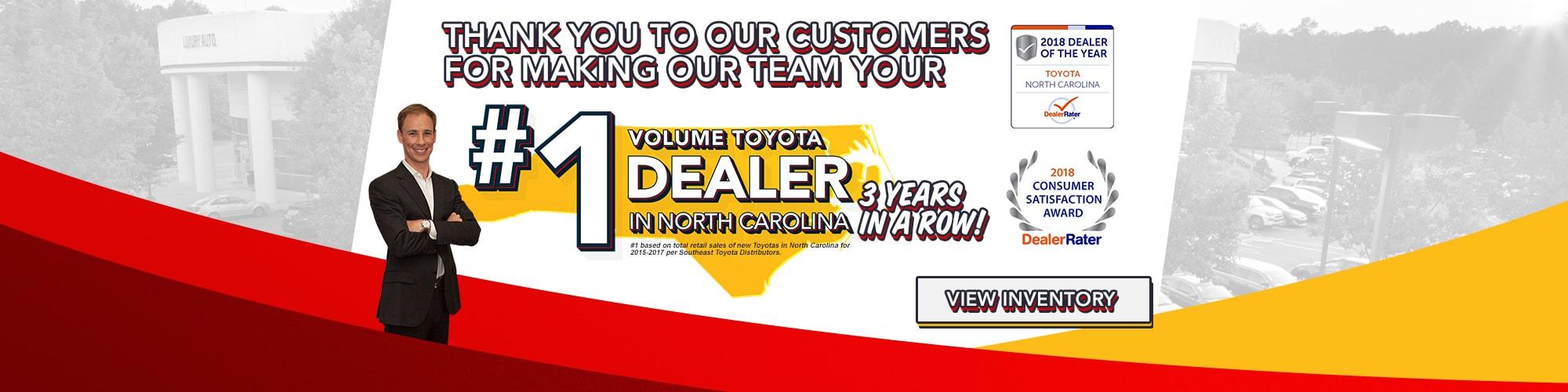 Toyota Dealer Raleigh NC