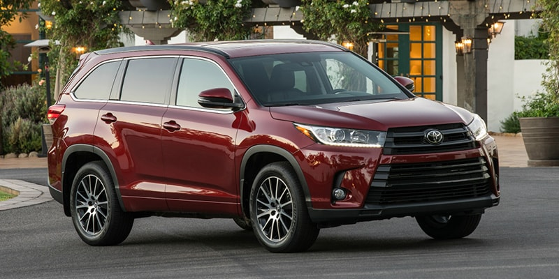 New Toyota Highlander in Raleigh NC