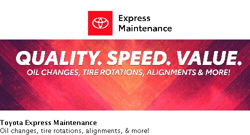 Printable Toyota Oil Change Coupons >> Toyota Service Coupons Raleigh Nc Near Durham Oil Change