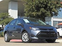 2018 Toyota Corolla LE Certified Sedan