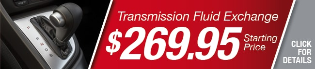 Transmission Fluid Exchange Coupon, Richardson