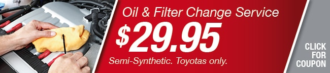 Oil Change Service Coupon, Richardson