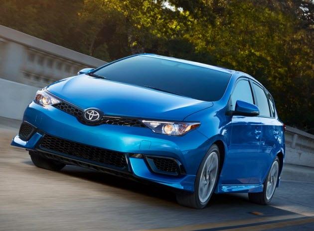 2018 Toyota Corolla iM Blue