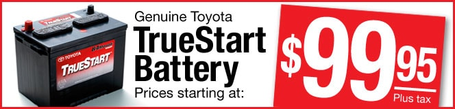 Battery Coupon from Toyota of Richardson Parts Department