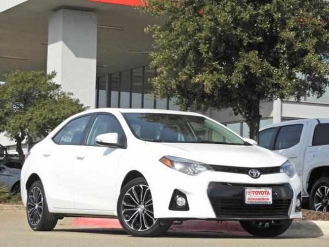 2016 Toyota Corolla S Plus Navigation, Sunroof & Push Button Start Sedan