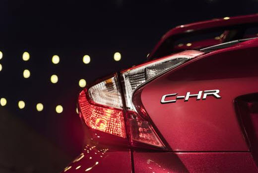2018 Toyota C-HR taillight