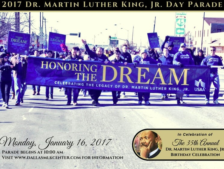 Dallas MLK Day Parade - Martin Luther King Jr. celebration in DFW