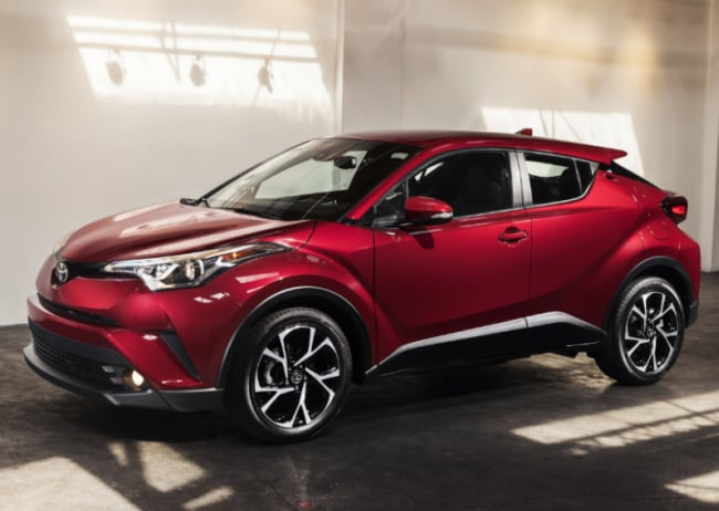 2018 Toyota C-HR coming to Dallas