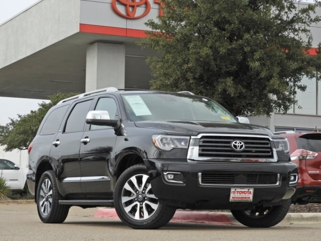 2018 Toyota Sequoia Limited Navigation, Sunroof & Power Liftgate SUV
