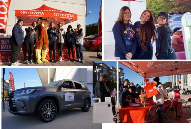 Toyota of Richardson at Gobble Hobble Fun Run