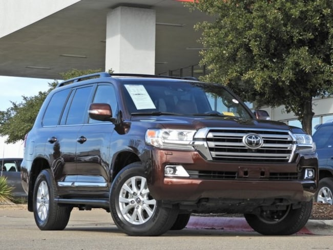 2018 Toyota Land Cruiser Navigation, DVD & Cooler Box SUV