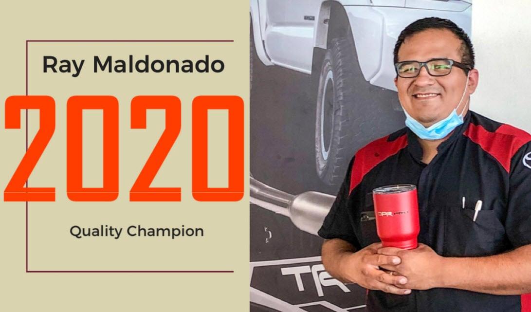 Toyota Quality Champion