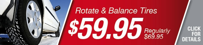 Rotate Balance Tires Special
