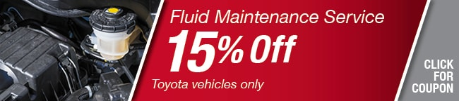 Fluid Maintenance Coupon, Richardson