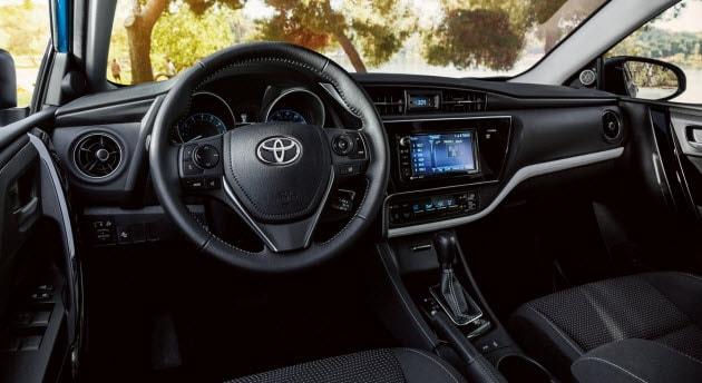 2018 Toyota Corolla iM Dashboard