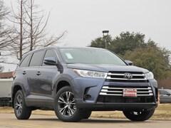 New 2019 Toyota Highlander LE SUV for sale Philadelphia