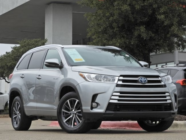 2017 Toyota Highlander Hybrid Hybrid XLE Navigation, Sunroof, Power Liftgate & B SUV