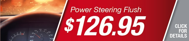Power Steering Flush Coupon, Richardson
