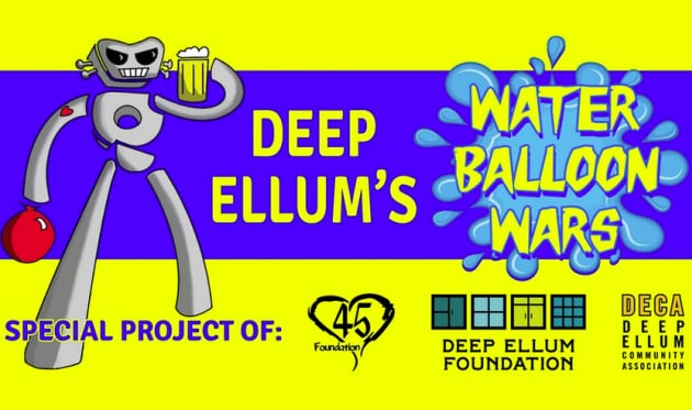 Deep Ellum Water Balloon Wars