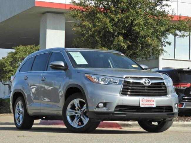 2014 Toyota Highlander Limited Navigation, Sunroof & Power Liftgate SUV
