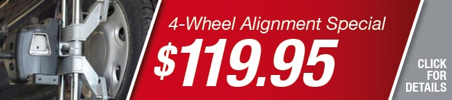 4 Wheel Alignment Coupon, Richardson