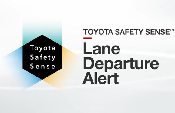 How to activate Toyota Lane Departure Alert