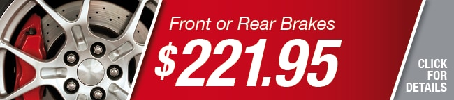Front Or Rear Brakes Coupon, Richardson