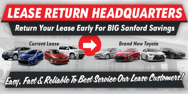 Fred Anderson Toyota Of Sanford Lease Return Headquarters In Sanford, NC