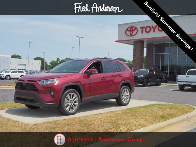 New 2019 Toyota RAV4 For Sale at Anderson Automotive Group | VIN
