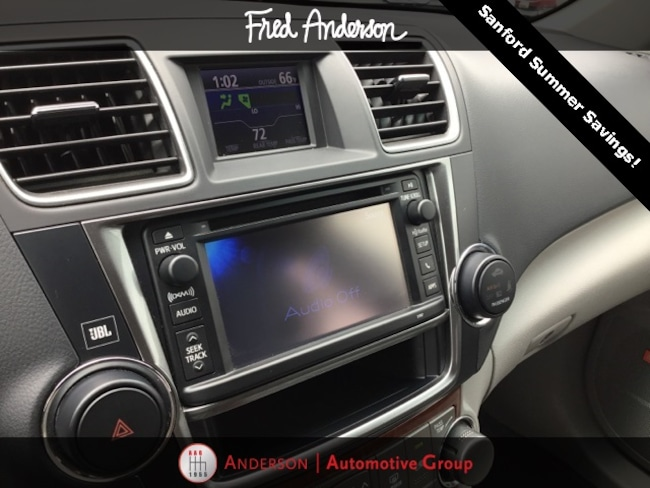 Used 2013 Toyota Highlander For Sale at Anderson Automotive