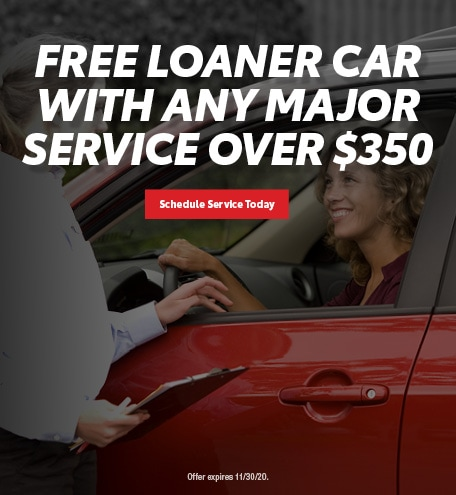 Free Loaner Car With Any Major Service Over $350
