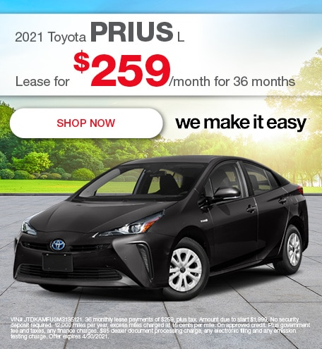 2021 Toyota Prius L