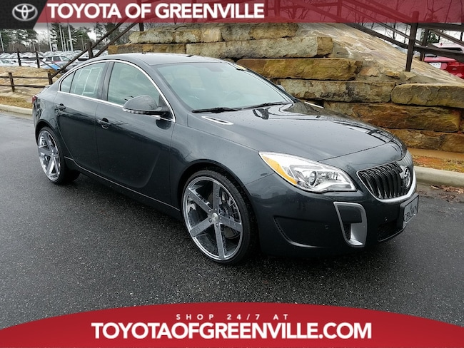 used 2017 buick regal turbo gs for sale greenville sc stock h9126107. Black Bedroom Furniture Sets. Home Design Ideas