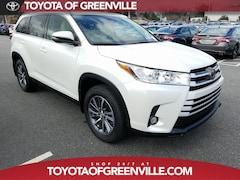 New 2019 Toyota Highlander XLE V6 SUV for sale Philadelphia