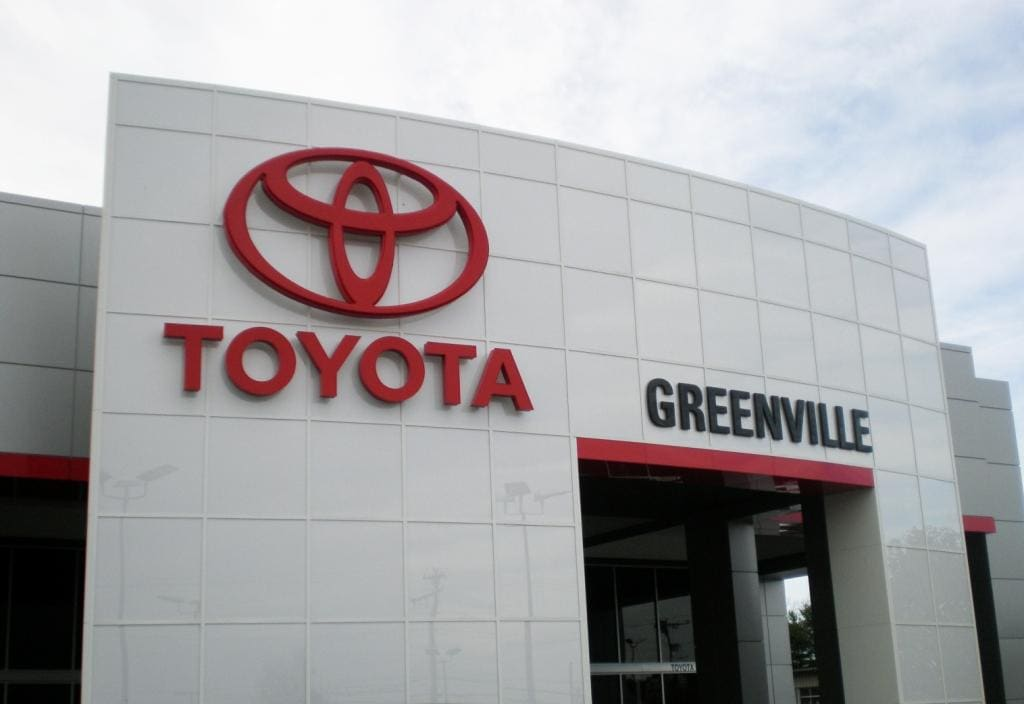 About Toyota Of Greenville | Car Dealership Serving Greer SC, Easley And  Spartanburg