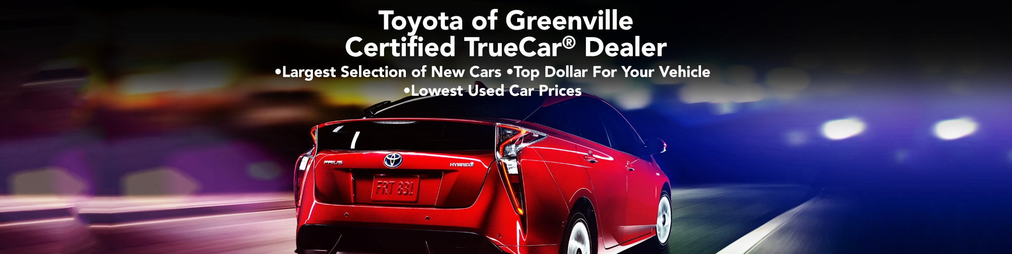 Certified TrueCar Toyota Dealer in Greenville SC