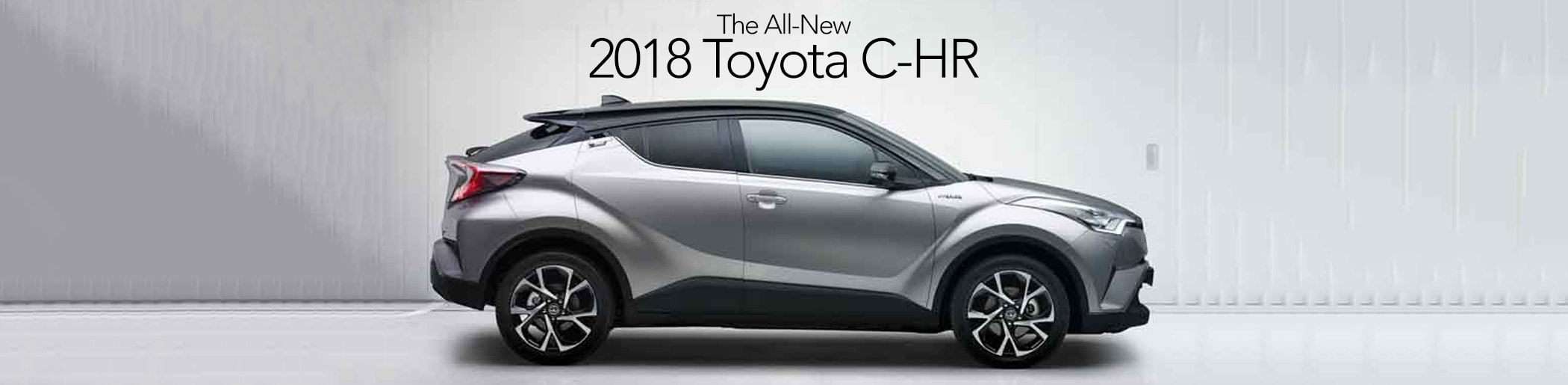 All New 2018 Toyota C-HR