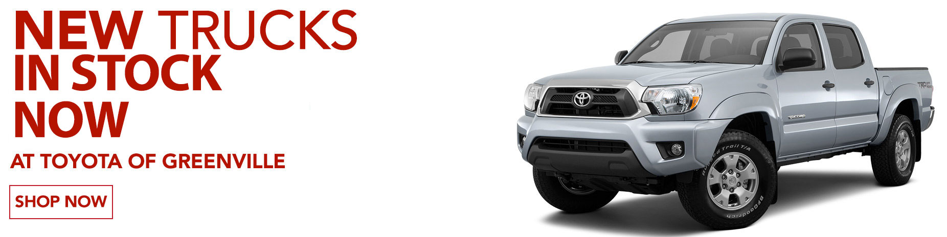 Trucks for Sale Greenville | Toyota Trucks | Tundra & Tacoma