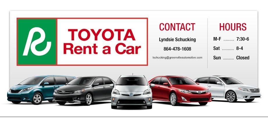 Greenville Rental Car Service