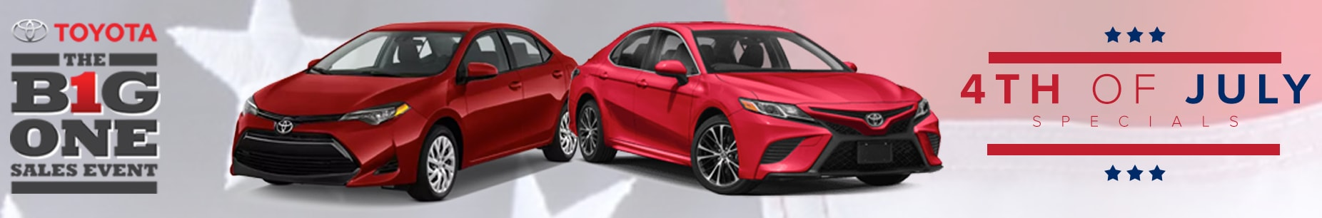 4th Of July 2018 Sales Event At Toyota Of Greenville SC. Schedule Service