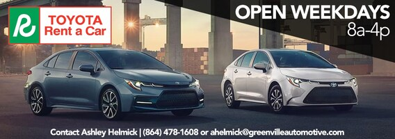 Car Rental Greenville Sc >> Cheap Car Rentals Starting At 28 95 A Day Toyota Rent A